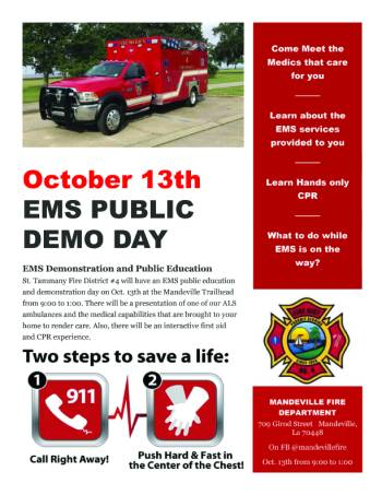 Fall Safety Series - EMS Day