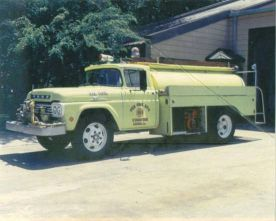 1959 Locally Manufactured Fire Apparatus