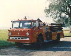 1966 750 G.P.M. Pumper