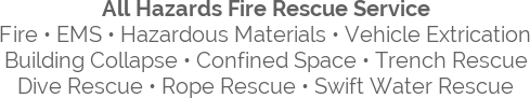 All Hazards Fire Rescue Service